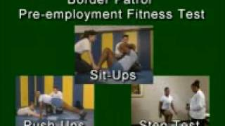 Border Patrol Agent - Fitness Exam Video
