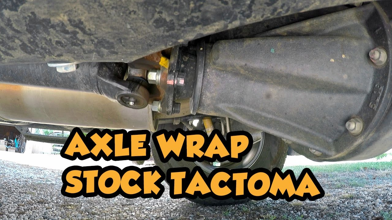 How Much Axle Wrap Does A Stock 3rd Gen Tacoma Get