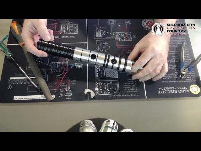 How to Remove a Switch : Ultrasabers Lightsaber Hilt
