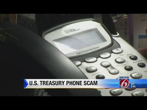Schemes and Ripoffs: US Treasury phone scam