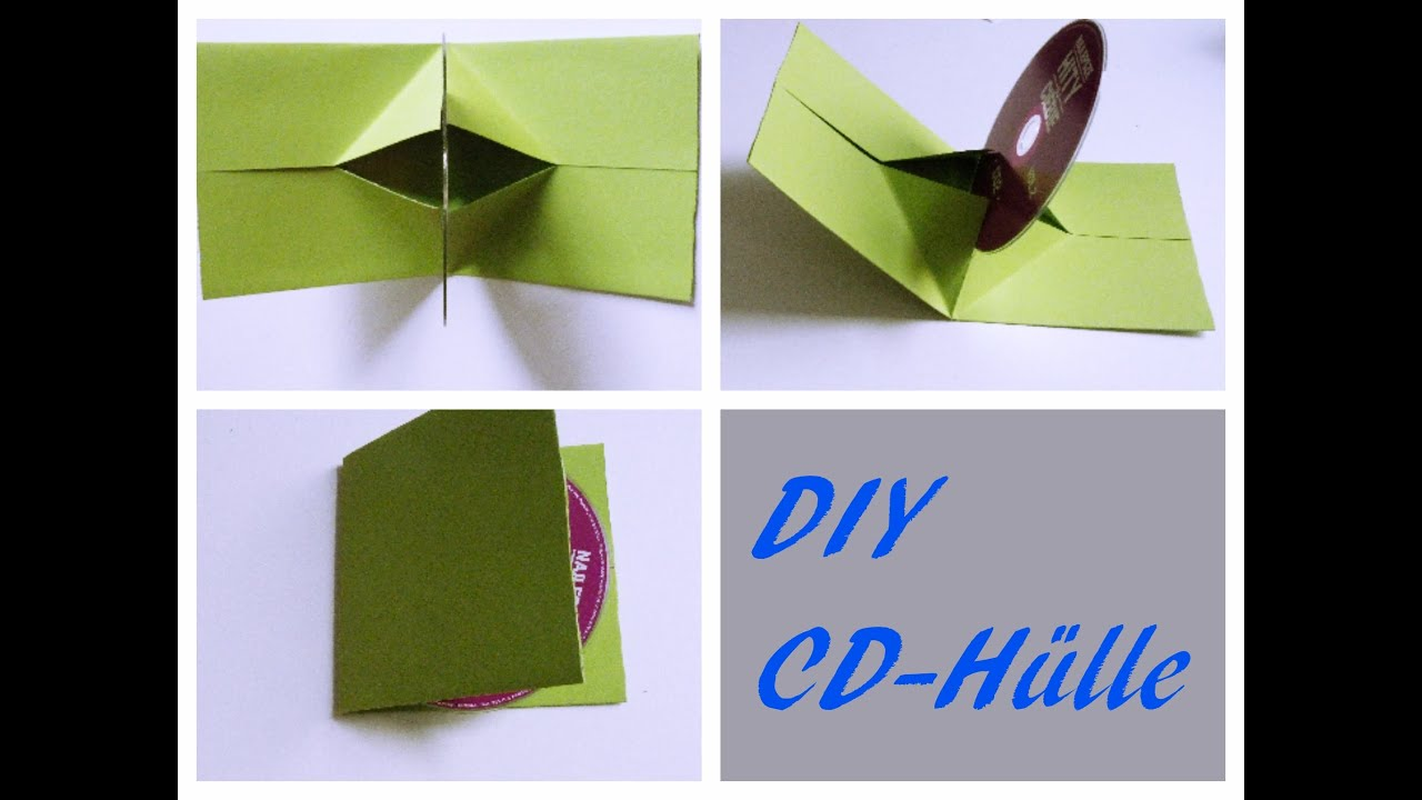 Hülle Tasche Diy- Cd-hülle |selber Machen | Cd Cover | Do It Yourself
