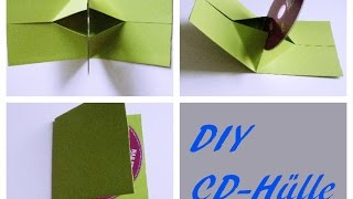 DIY- CD-Hülle   |selber machen | CD cover  | Do It Yourself  | selber machen
