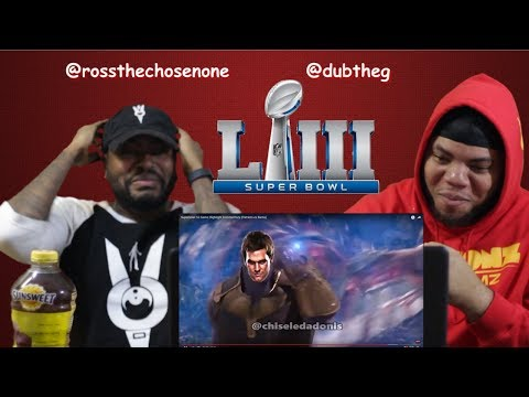 Chiseled Adonis Superbowl 53 Highlight Commentary - (TRY NOT TO LAUGH)