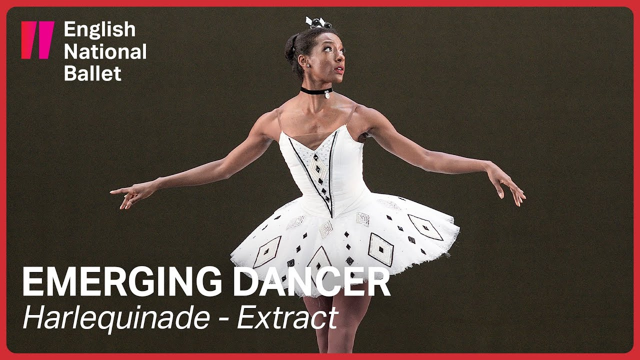Harlequinade: Precious Adams & Fernando Carratalá Coloma | English National Ballet