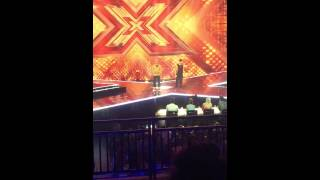 X Factor 2015 Mason Noise Walks Off Stage (MUST WATCH)