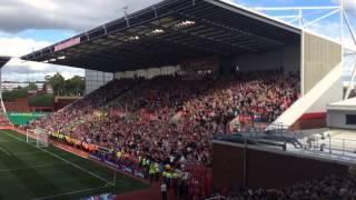 liverpool fans stoke away britannia 0 1 august 9th 2015