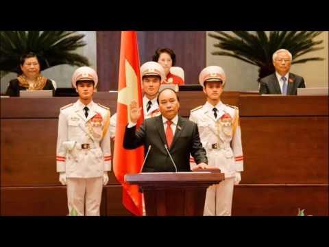 Nguyen Xuan Phuc sworn in as Vietnam's prime minister