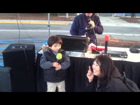 Justin Karaoke Debut @ Poway, CA