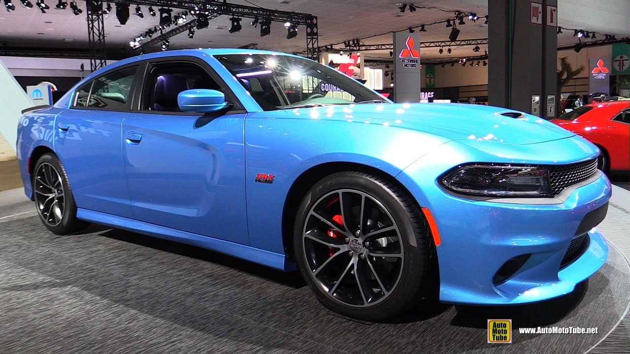 2015 Dodge Charger Rt Scatpack Exterior And Interior