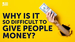 Why is it so difficult to give people money? | Michael Faye | Andrew Yang | Yang Speaks