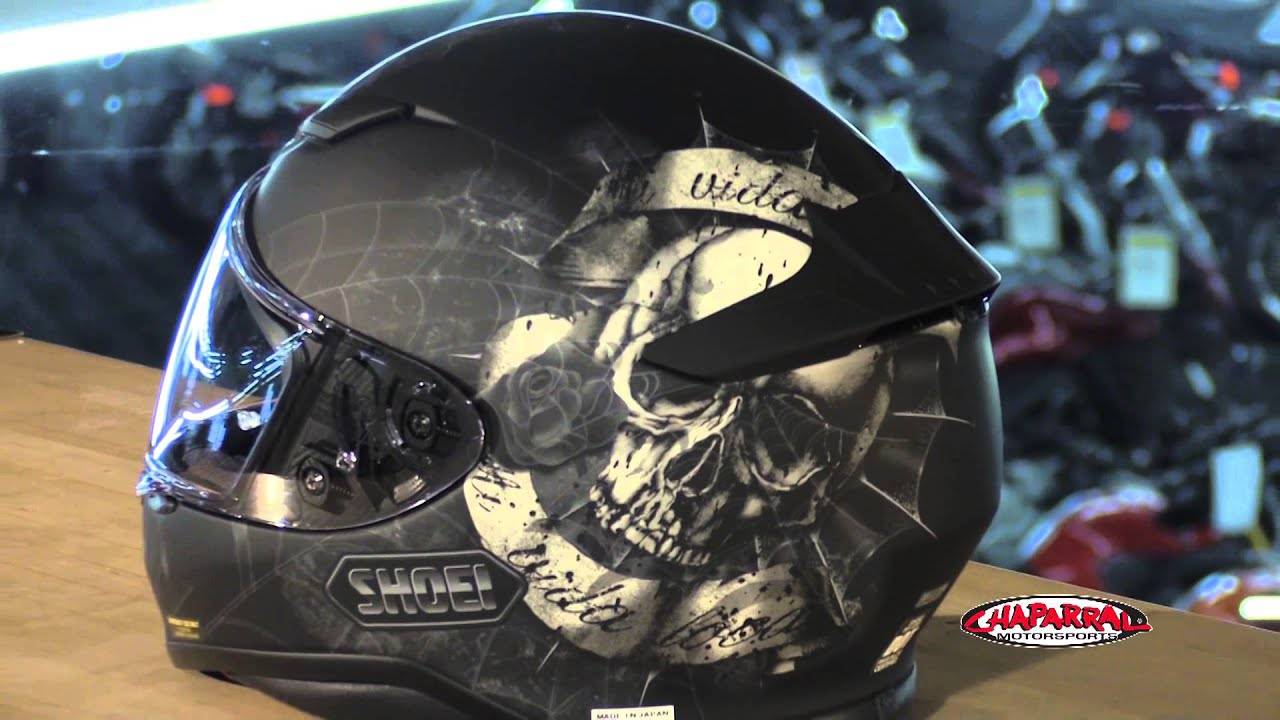 Full Motorcycle Helmet >> Shoei RF-1200 Brigand Full Face Motorcycle Helmet Graphic Overview - YouTube