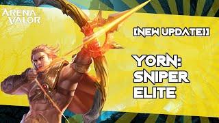 +++  New Update : Yorn: Sniper Elite +++  Arena Of Valor / Aov / Rov / Liên Quân Mobile