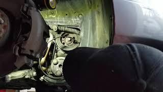 Mazda 3 AC / stretch belt install tip