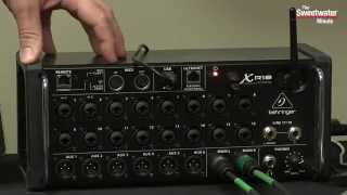 Behringer XR18 X Air Digital Mixer Review by Sweetwater Sound