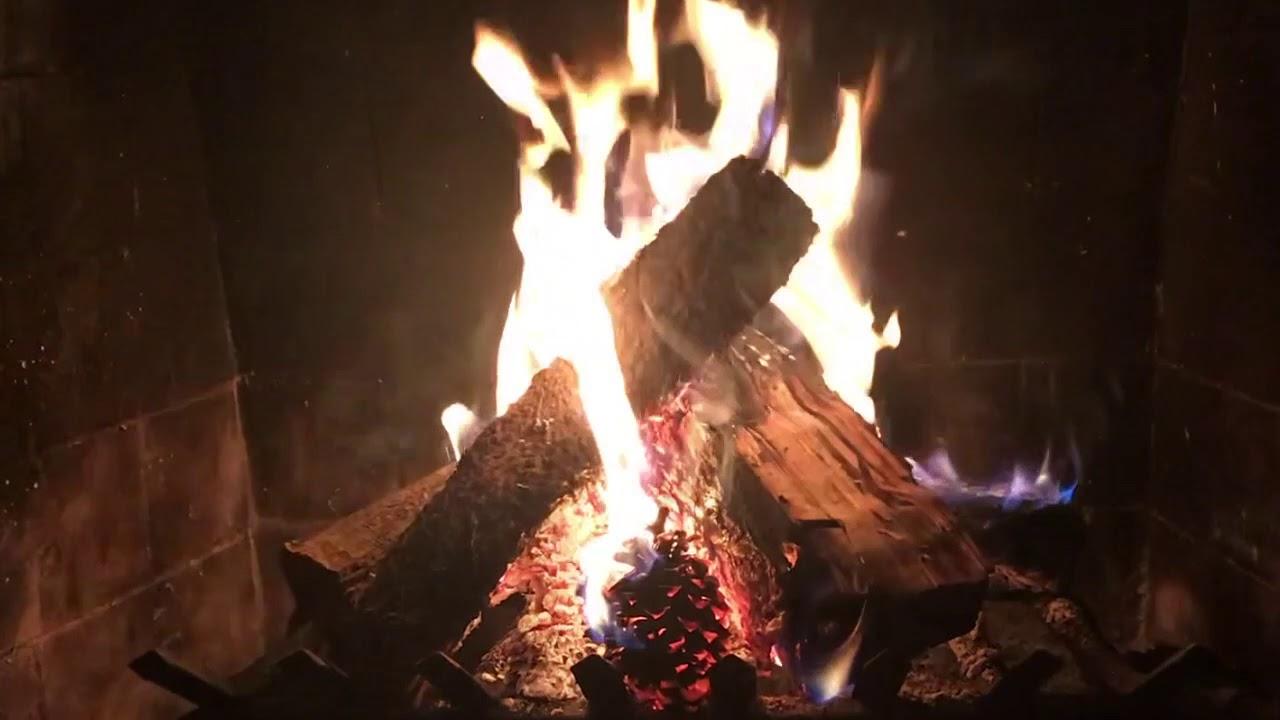 Yule Log Youtube Fireplace Video 3 Hours W Christmas Music Youtube