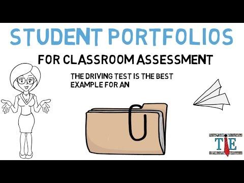 Student Portfolios for Classroom Assessment