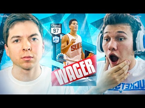 THE BIGGEST WAGER OF MY LIFE... NBA 2K17 DIAMOND WAGER vs JESSERTHELAZER