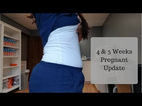 4-5 week pregnancy symptoms| How i found out | PCOS part 1