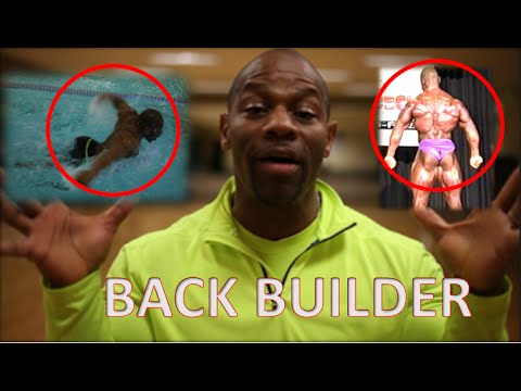 "How I Got a Huge Back by ""SWIMMING"" 
