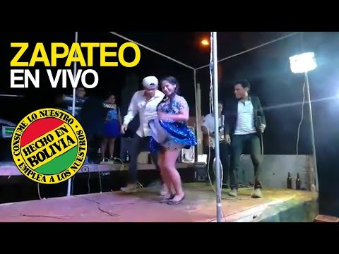 CUMBIA DE HOY - ZAPATEO DE LINDA CHOLITA BOLIVIANA EN CONCURSO