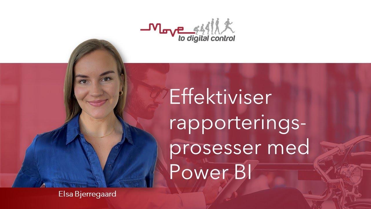 Effektivisering av rapporteringsprosesser med Power BI