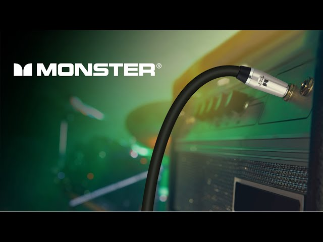 Monster is Back! Head Monster on Professional Audio Cables