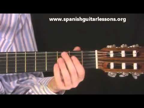 A Spanish Guitar Chord Progression Youtube