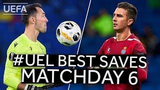 PROTO, ANDRÉS PRIETO: #UEL BEST SAVES, Matchday 6