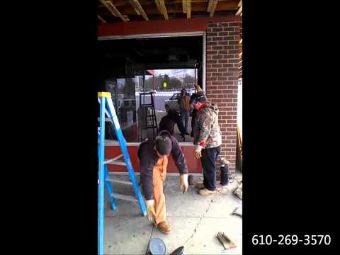 Economy Glass Commercial Store Front Installation Repair Shopping Center