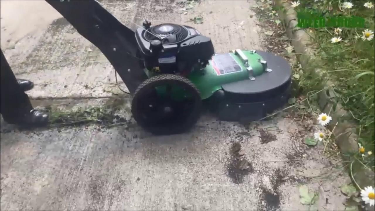 Weed Brush Video - YouTube