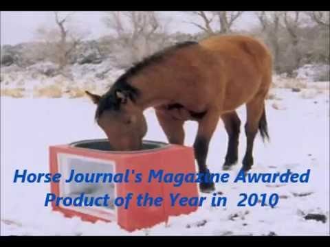 Horse Water Tank Trough Solar Powered Heated Youtube