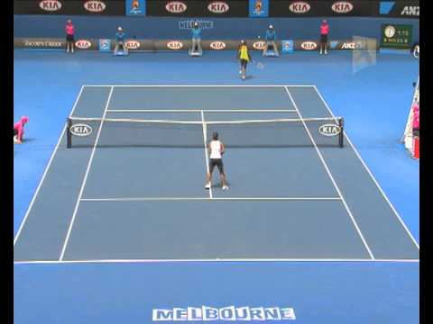 V. Williams v Li: 2010 Australian Open Quater Final Highlights