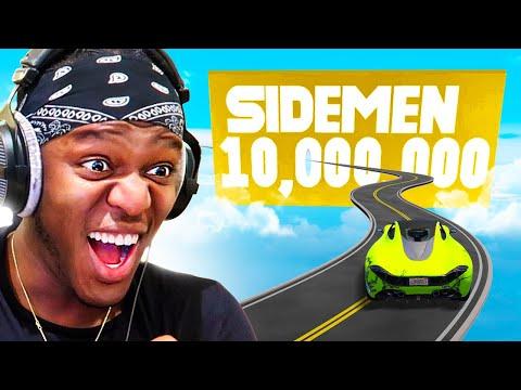 SIDEMEN REACH 10 MILLION SUBSCRIBERS ON GTA V