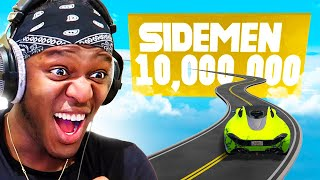 SIDEMEN REACH 10 MILLION SUBSCRIBERS ON GTA V