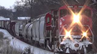 CN Arriving into Cedar Rapids, IA