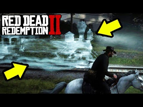 GHOST TRAIN FOUND in Red Dead Redemption 2! RDR2 Easter Eggs!