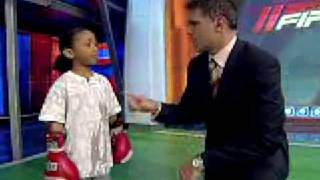 6 year old boxing kid AMAZING