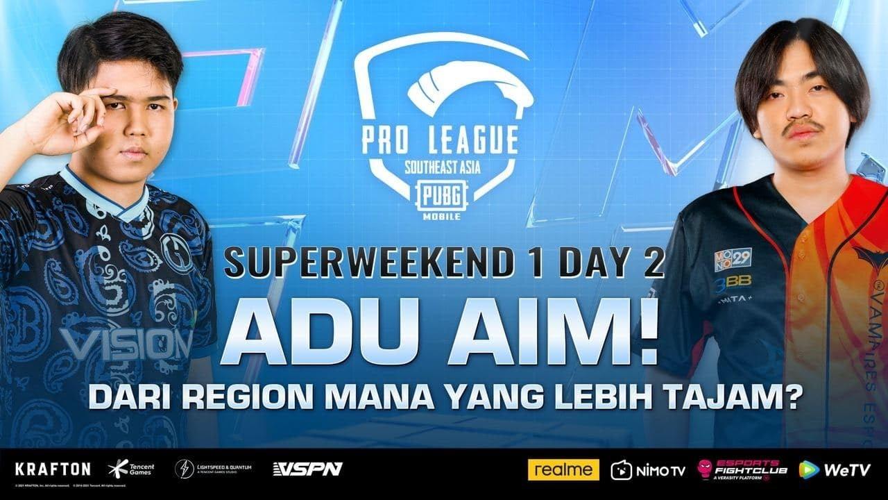 PMPL SEA Championship S4 | Superweekend 1 Day 2 |ADU AIM! REGION MANA LEBIH TAJAM?
