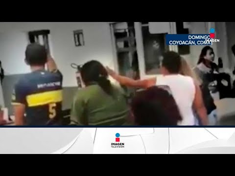 Familiares de un detenido arman zafarrancho en el Ministerio Público   Noticias con Ciro Gomez Leyva