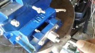 HFS 16037 Drill Press Milling Vice unbox test review mill