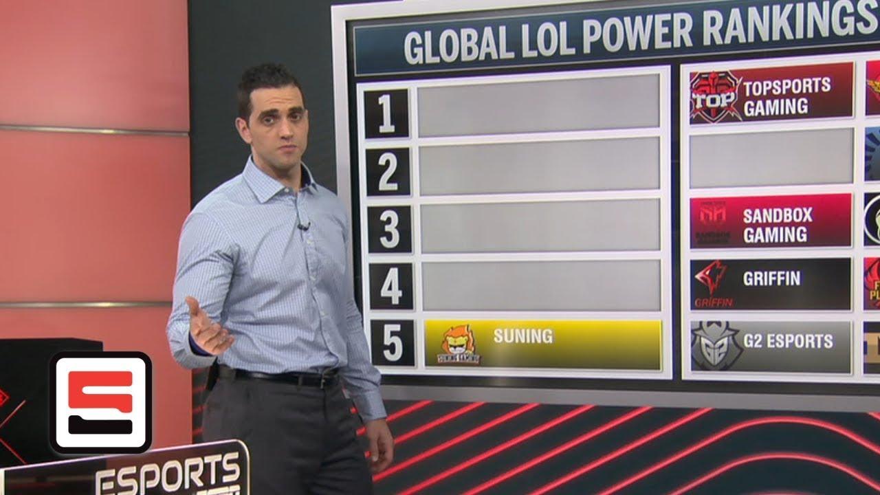 Lol Power Rankings