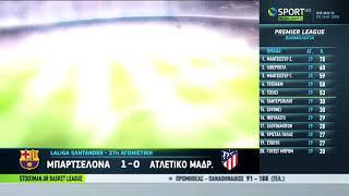 Μπαρτσελόνα vs Ατλέτικο Μαδρίτης 1-0 Στιγμιότυπα HD 4-3-2018