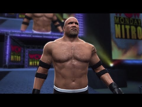 wwe 2k14 goldberg wcw nitro entrance youtube