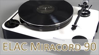 ELAC Miracord 90 Anniversary Hands on (german)