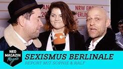 Sexismus auf der Berlinale 2018  - Report mit Sophie & Ralf | NEO MAGAZIN ROYALE mit Jan Böhmermann