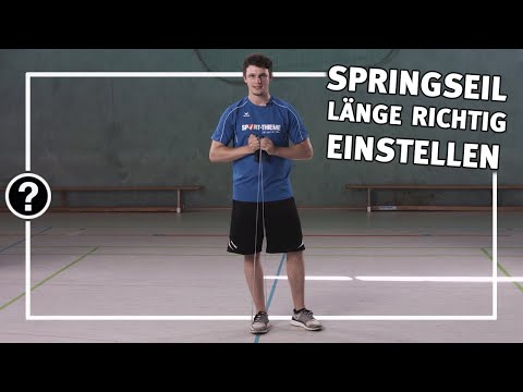 "Video: Sport-Thieme Skipping Rope ""Cotton"""