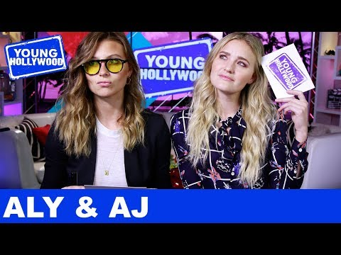 Aly & AJ Reveal Their Celeb Crushes In Sister Challenge!