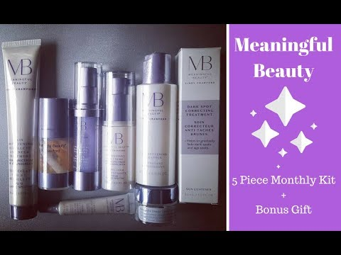 Meaningful Beauty – 5 Piece Monthly Kit + BONUS Gifts