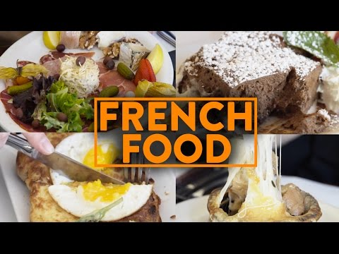 FRENCH CUISINE w/ FRENCH PEOPLE - Fung Bros Food