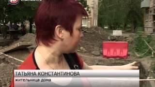 Жители дома на улице Мичуринской не могут спокойно выйти во двор /НВ - Тамбов/